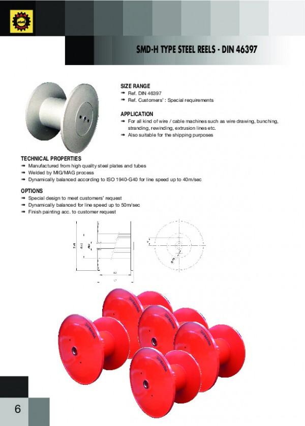 SMD-H Tipi Çelik Makaralar
