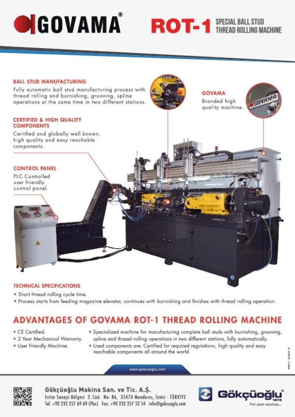 ROT-1 Özel Ovalama Makinesi
