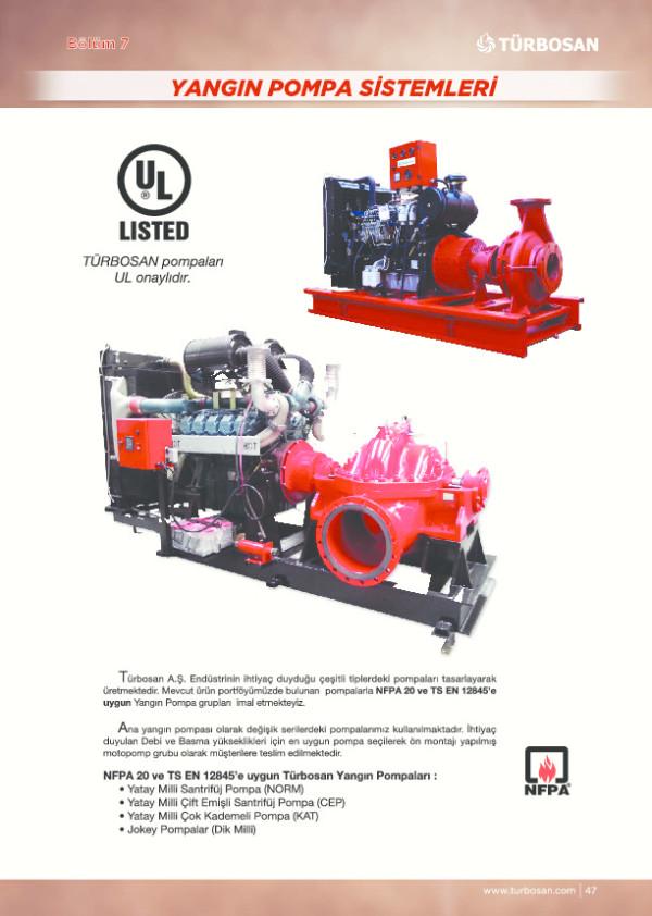 Yangın Pompa Sistemleri