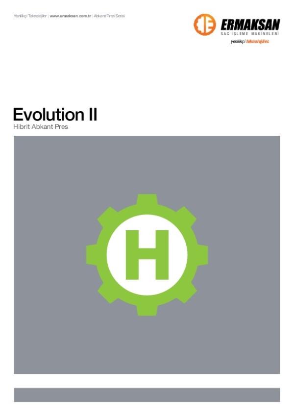 Evolution Hibrit Abkant Pres