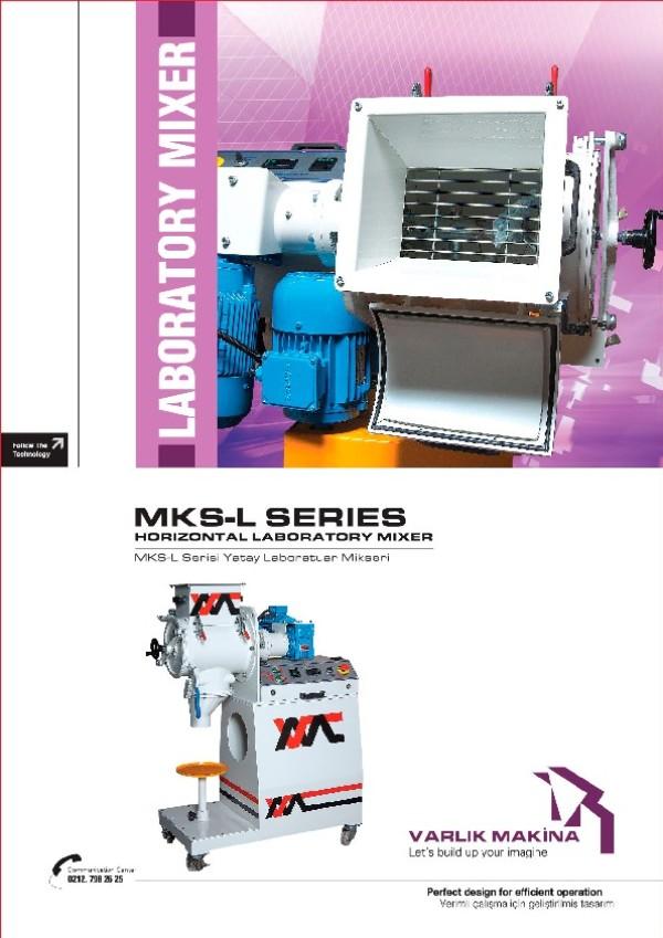MKS-L Serisi Yatay Laboratuvar Mikseri