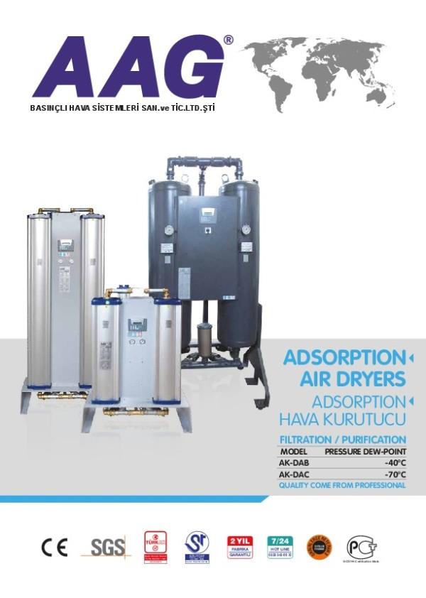 Adsorpsiyonlu Basınçlı Hava Kurutucuları Katalog