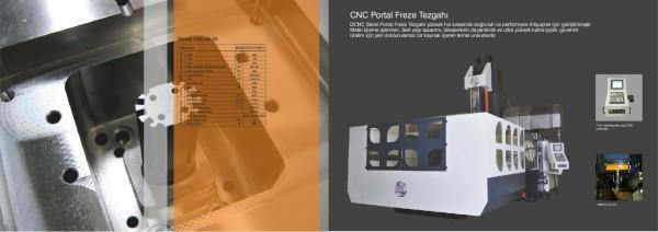 CNC Portal Freze Tezgahı