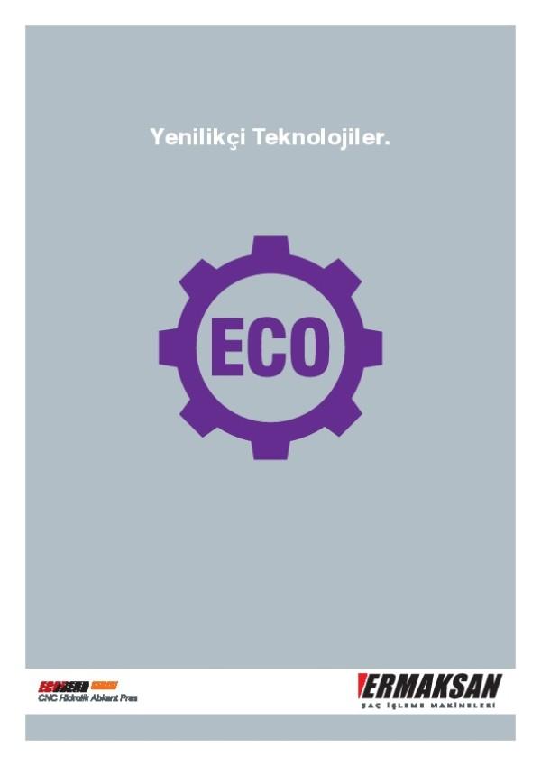 ECO-BEND - CNC Hidrolik Abkant Pres