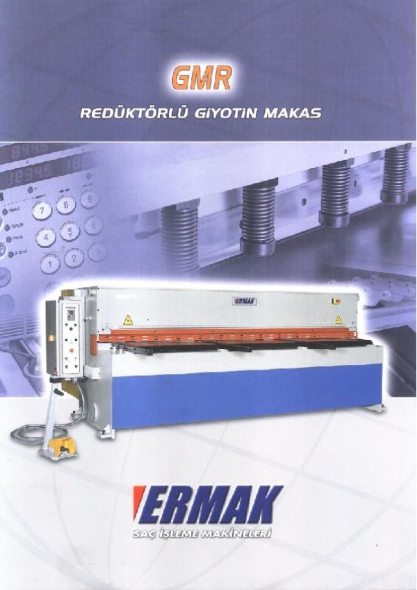 GMR - Mekanik Giyotin Makas