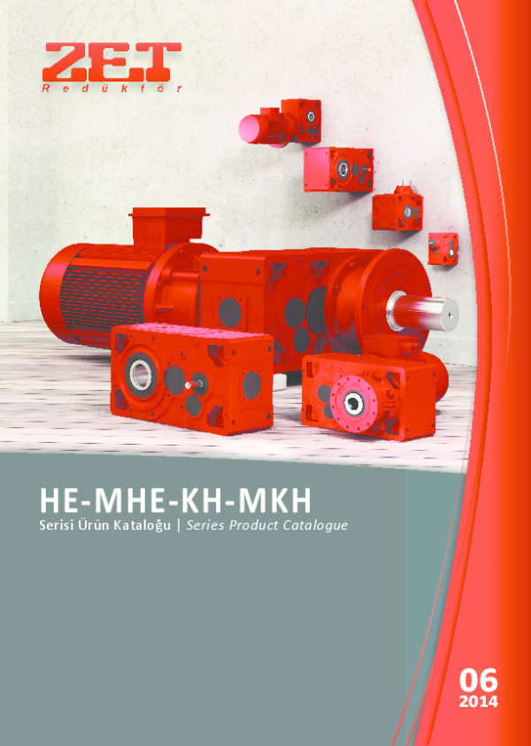 HE- MHE- KH- MKH Serisi Ürün Kataloğu