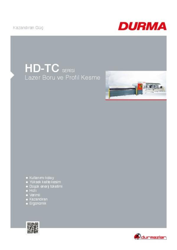 HD-TC Serisi Lazer Boru ve Profil Kesme