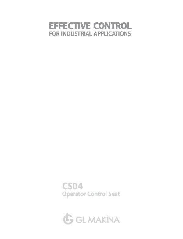 CS04 Crane-Control