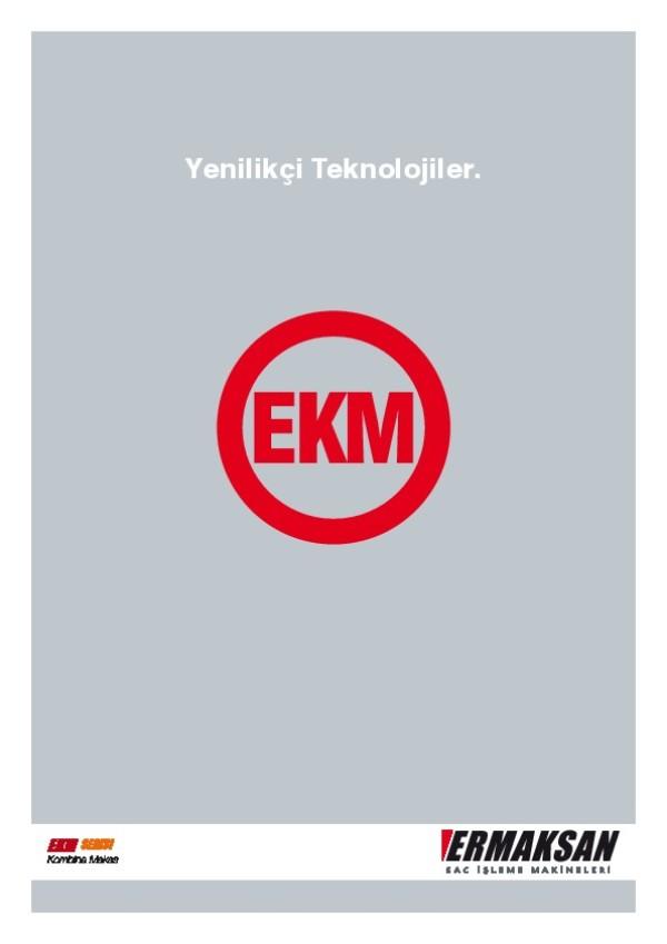 EKM - Kombine Makas